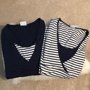 2 Nursing tops, never worn